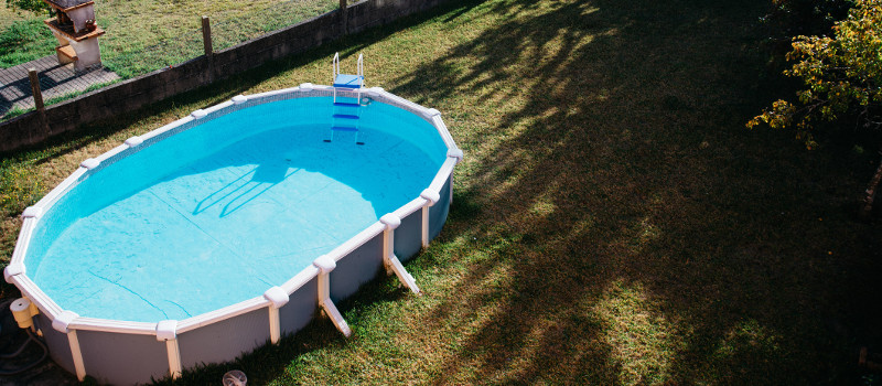 Above-Ground Swimming Pools Are a Great Addition to Your Backyard Playground
